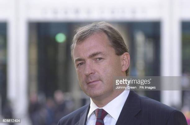 Metropolitan Police Detective Chief Inspector Chris Watts talks to the media outside Kingston Crown Court in Surrey after paedophile Douglas Lindsell...