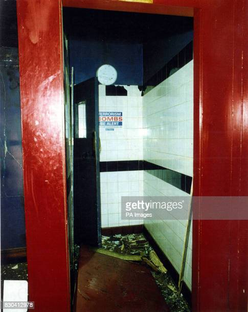 Metropolitan police issued picture of a room inside the Admiral Duncan public house in Soho central London 30/6/00 David Copeland has been found...