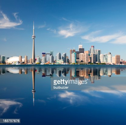 Metropolitan Toronto City Reflection