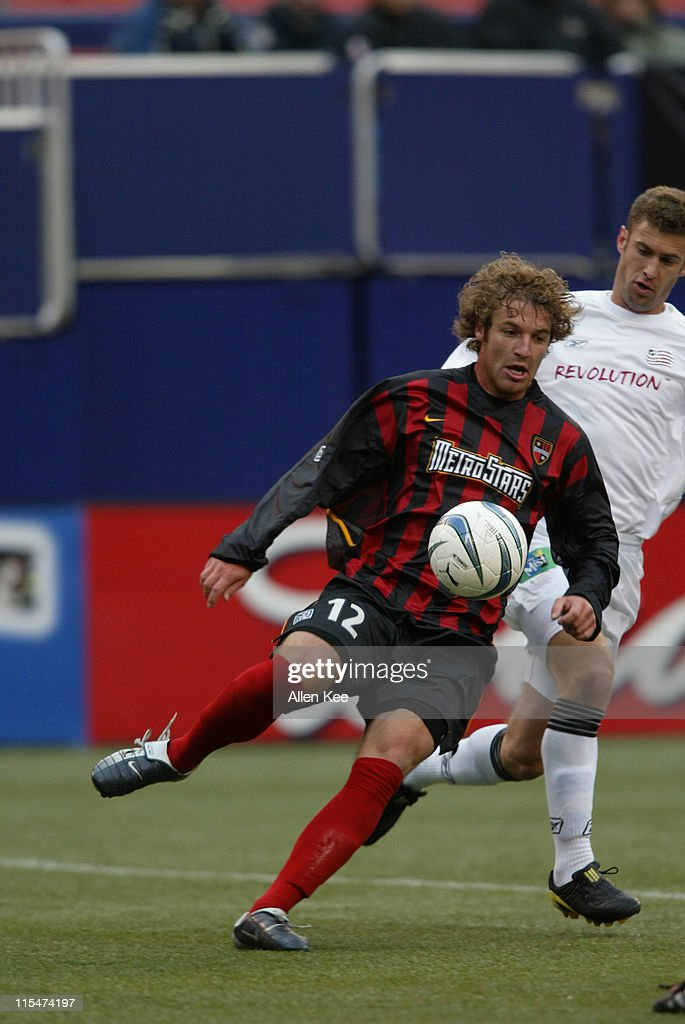 MLS - New England Revolution vs New York/New Jersey MetroStars - April 25, 2004