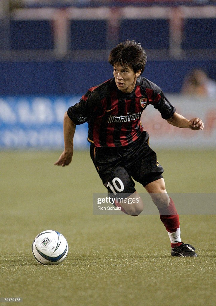 MetroStars' Joselito Vaca against the Chicago Fire during the first half at Giants Stadium in East Rutherford, N.J. Sunday, May 15, 2004. Both teams played to a 1-1 tie.