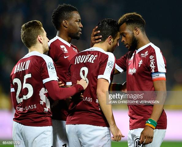 FBL-FRA-LIGUE1-METZ-BASTIA : News Photo