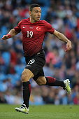 MANCHESTER ENGLAND MAY 22 Mevlut Erdinc of Turkey during the International Friendly match between England and Turkey at Etihad Stadium on May 22 2016...