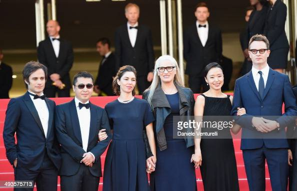 Mexican actor and director Gael Garcia Bernal Chinese director Jia Zhangke US director Sofia Coppola New Zealander director and President of the...