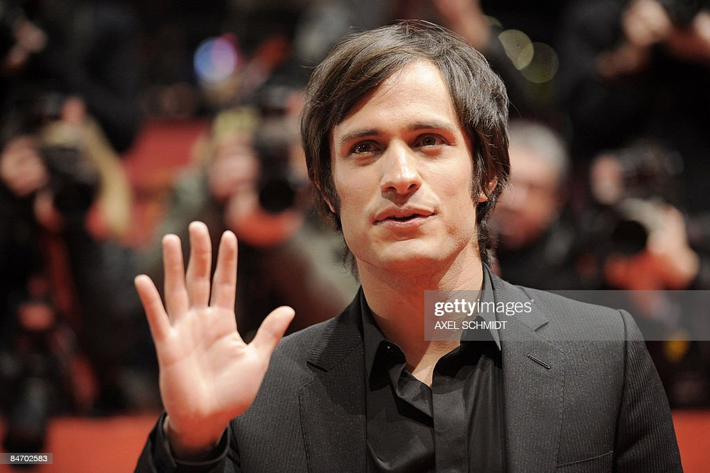 Mexican actor Gael Garcia Bernal poses on the red carpet ahead of the premiere of the film 'Mammoth' by Swedish director Lukas Moodysson and presented in competition at the 59th Berlinale Film Festival in Berlin February 8, 2009. The Berlinale is taking place from February 5 to 15, 2009 with 18 productions vying for the coveted Golden Bear for best picture to be awarded February 14.