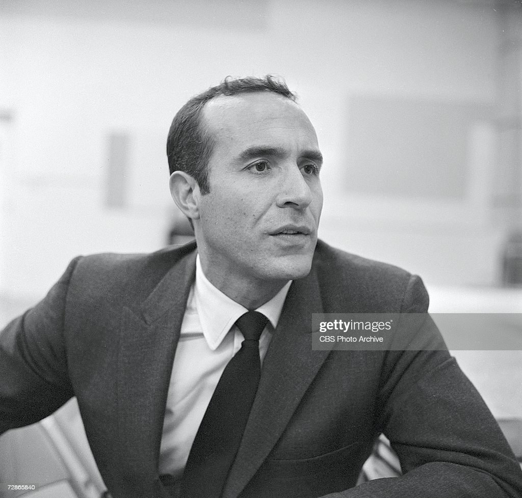Mexican actor Ricardo Montalban (born Ricardo Gonzalo Pedro Montalban y Merino) during rehearsals for the CBS television Playhouse 90 production of 'Target for Three,' September 15, 1959.