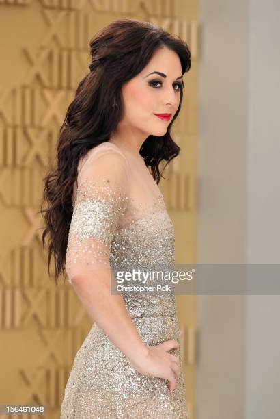 Mexican actress and singer Zuria Vega arrives at the 13th annual Latin GRAMMY Awards held at the Mandalay Bay Events Center on November 15 2012 in...