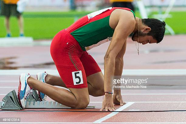 Mexican athlete Martinez Manuel taking guard during the race at the 2015 Parapan American Games The 2015 Parapan American Games commonly known as the...