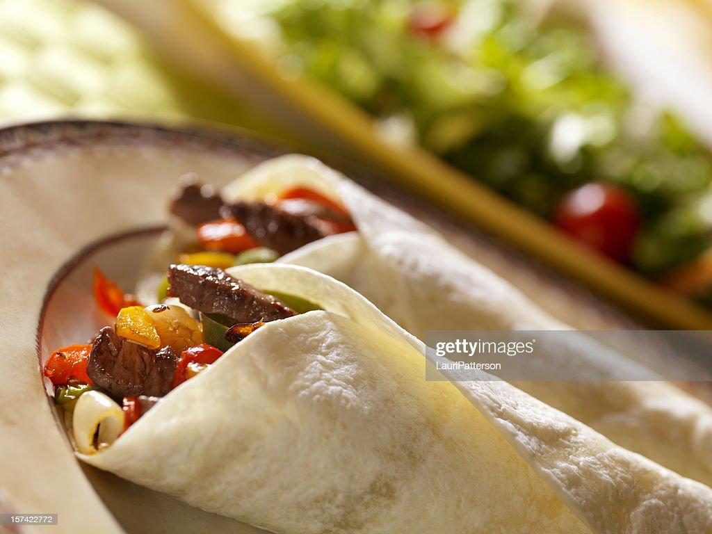 Mexican Beef Fajita : Stock Photo
