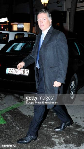 Mexican businessman Elias Sacal is seen on March 22 2017 in Madrid Spain