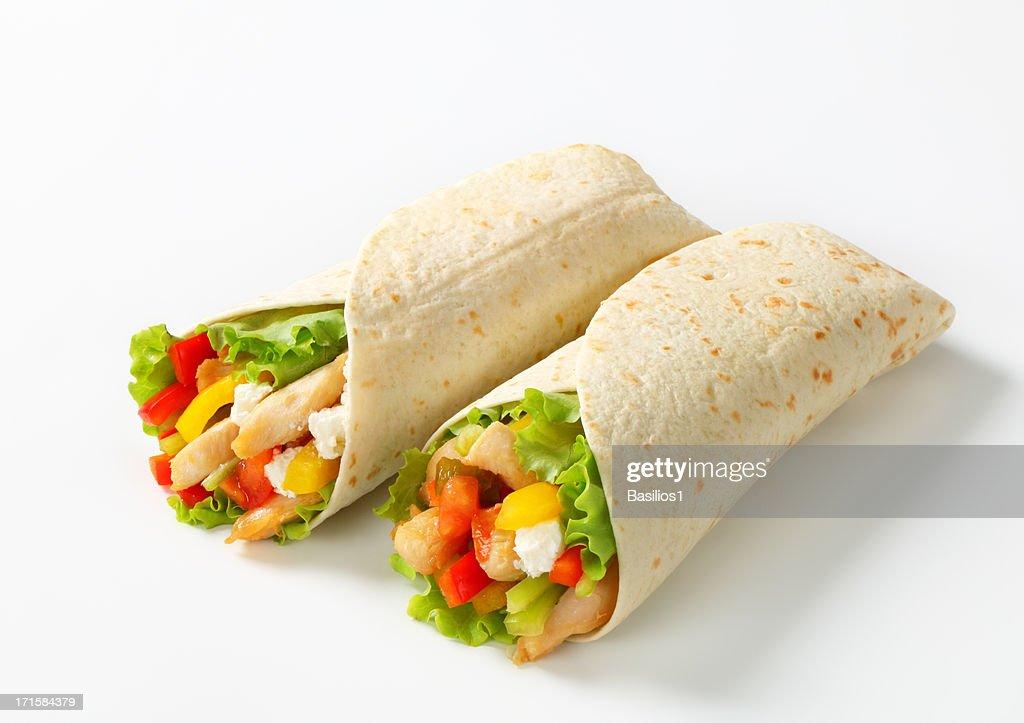 mexican fajitas (tortilla wraps)