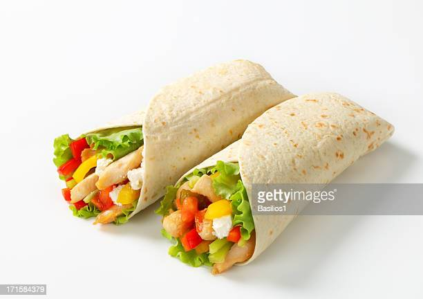 mexican fajitas (tortilla wraps)