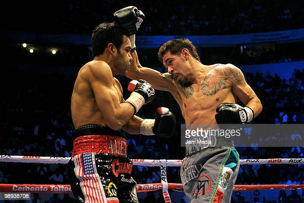 Mexican fighter Antonio Margarito before the fight with Roberto Garcia of USA during the WBC Continental Super Welterweight Title at Bullring...