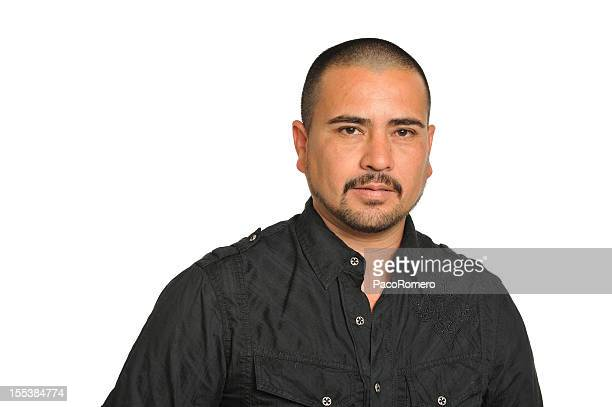 Mexican immigrant with strong expression