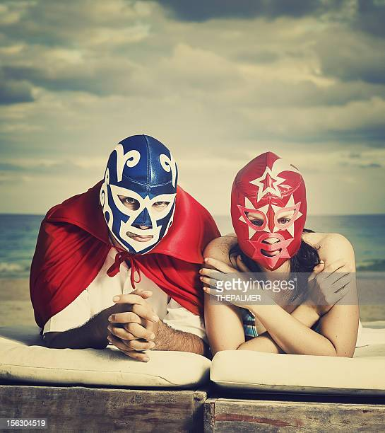 mexican luchadores on honey moon
