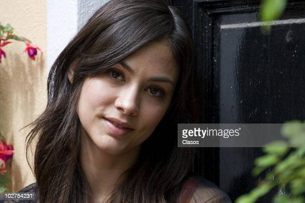 Garcia Mexico  City pictures : Mexican model and actress Diana Garcia poses for portraits during a ...