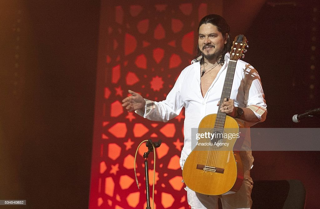 Mexican musician Paco Renteria performs during the 15th International Mawazine Music festival at National Theatre Mohammed V in Rabat, Morocco on May 25, 2016.