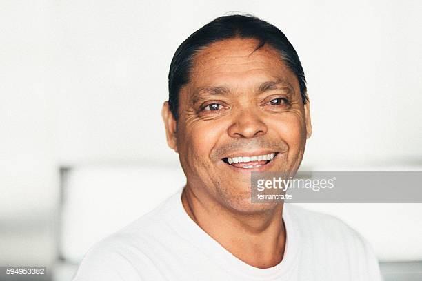 Mexican senior man portrait