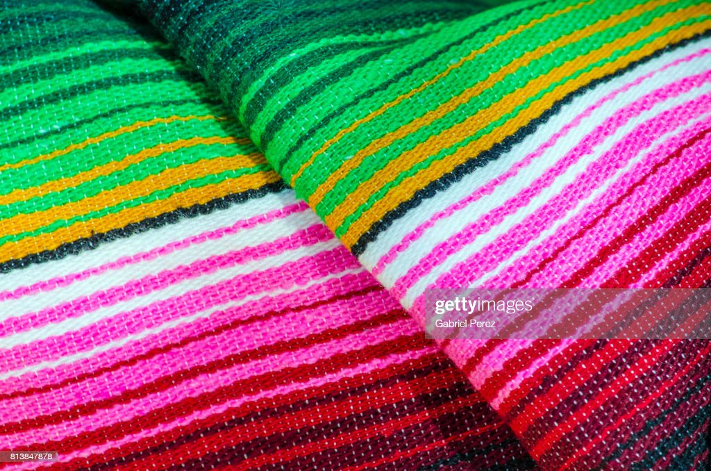 A Mexican Serape : Stock Photo