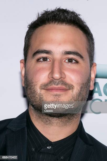 Mexican singer Jesus Navarro of the pop band Reik poses during the Trayectoria SACM 2017 Awards at Roberto Cantoral Auditoriun on May 24 2017 in...