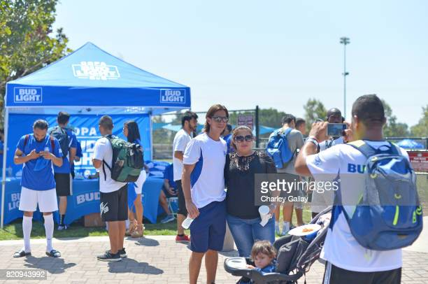 """Mexican soccer player Paulo Cesar 'Tilon' Chavez partnered with the brand that's famous among friends to celebrate """"Hecho en Los Angeles"""" Bud Light's..."""
