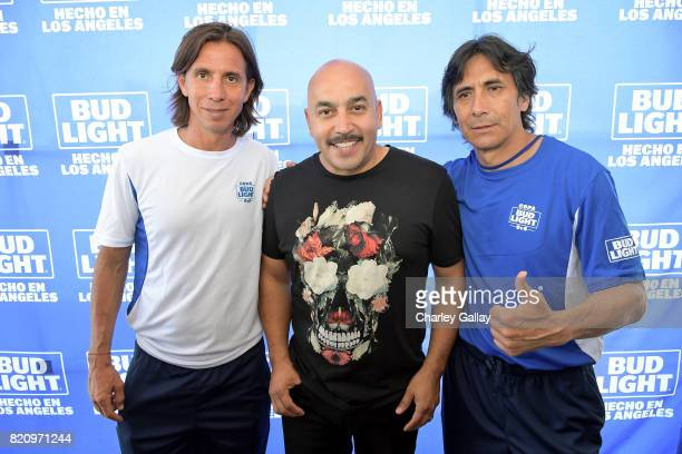 Mexican soccer players Paulo Cesar 'Tilon' Chavez and Jose Guadalupe 'Lupillo' Castaneda and singersongwriter Lupillo Rivera partnered with the brand...
