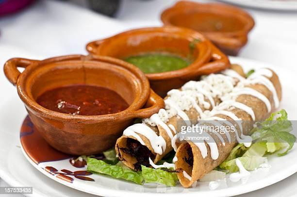 Mexicana Taquitos (flautas