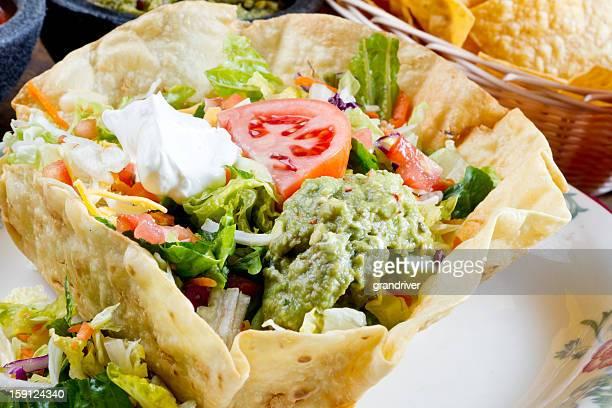 Mexican Tostada Salad