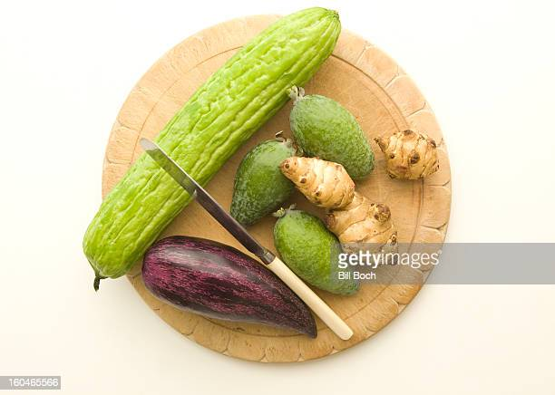 Mexican vegetable still life