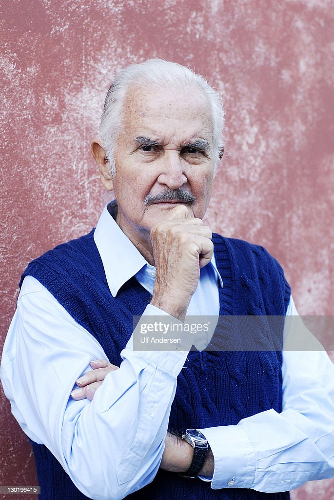 AIX EN PROVENCE, FRANCE - OCTOBER 16. Mexican writer <a gi-track='captionPersonalityLinkClicked' href=/galleries/search?phrase=Carlos+Fuentes&family=editorial&specificpeople=602894 ng-click='$event.stopPropagation()'>Carlos Fuentes</a> poses during a portrait session held on October 15, 2011 in Aix en Provence, France.