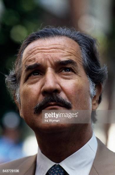 Mexican writer novelist and essayist Carlos Fuentes