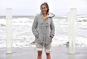 Mexican-American Artist And Surfer Ana Teresa Fernandez...