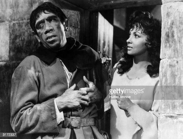 Mexicanborn actor Anthony Quinn in costume as Quasimodo and ... Anthony Hopkins