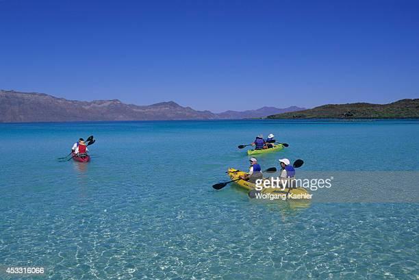 Mexico Baja California Coronado Island People Kayaking