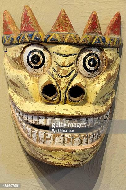 Mexico Bajio Zacatecas Day of the Dead masks Museo Rafael Coronel Dia se los Muertos