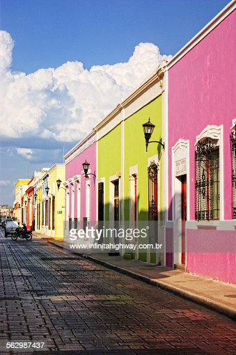 Mexico campeche street