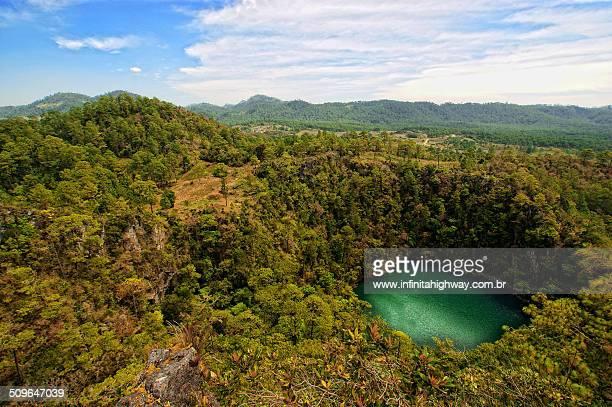 Mexico Chiapas Cenote Bartolo