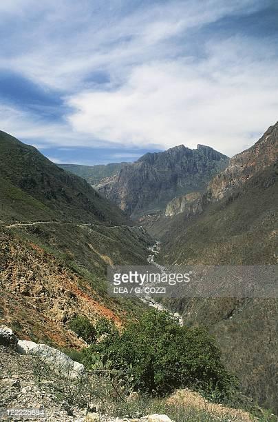 Mexico Chihuahua State Batopilas Canyon