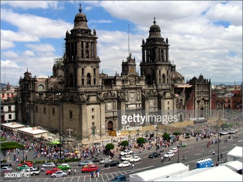 Mexico City Cathedral : ストックフォト