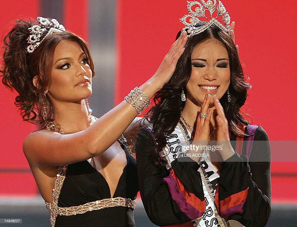 mexico holds miss universe 2007 contest getty images