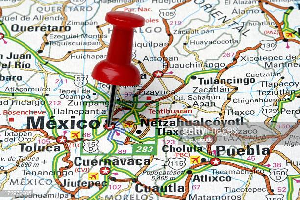 Mexico City on a Map