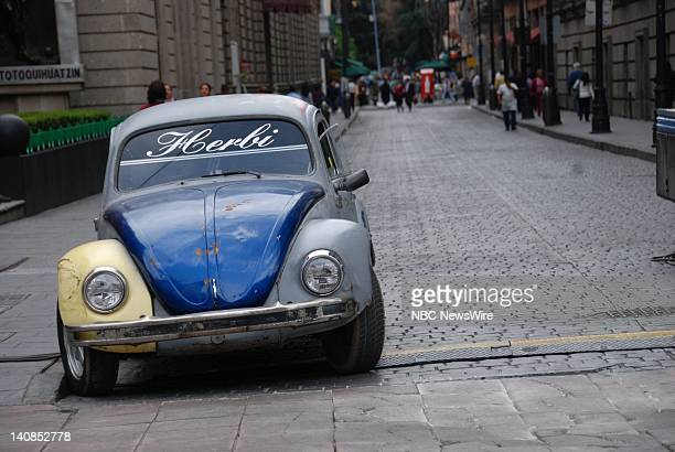 A VW Beetle in Mexico City Mexico on June 11 2008 Photo by Stephanie Himango/NBC NewsWire
