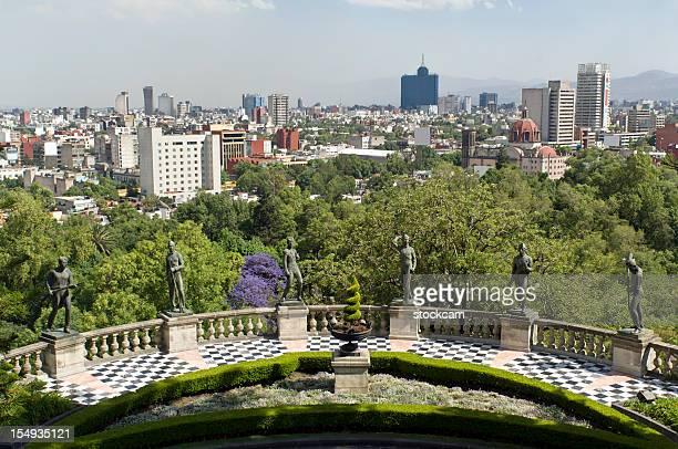 Vue sur la ville de Mexico
