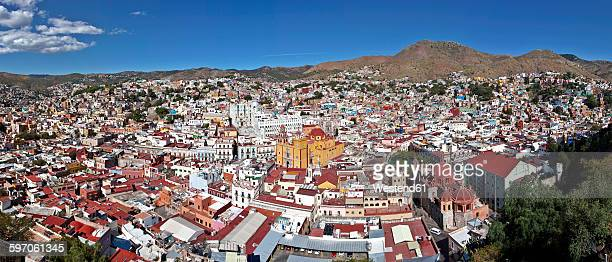Mexico, Guanajuato, View of city
