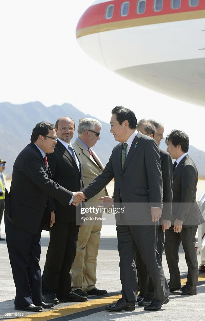 LOS CABOS Mexico Japanese Prime Minister Yoshihiko Noda arrives in the Mexican resort of Los Cabos on June 17 to attend a twoday summit of the Group...