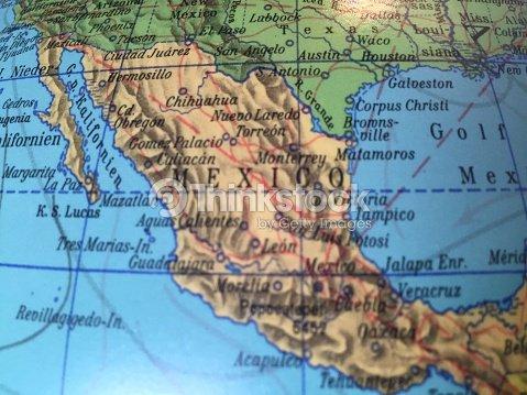 Globus Karte.Mexico Karte Alter Globus Weltkarte Stock Photo Thinkstock