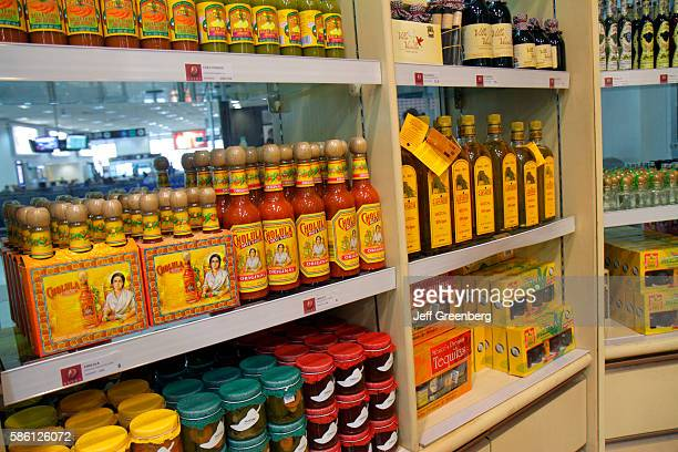 Mexico Mexico City Ciudad de MŽxico Federal District Benito Juarez International Airport gate area gift shop selling local specialty products