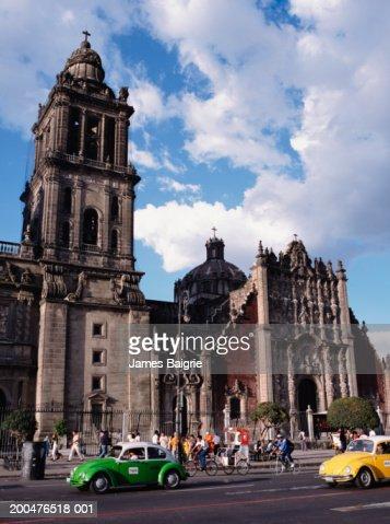 Mexico mexico city df zocalo metropolitan cathedral - Zocalo exterior ...