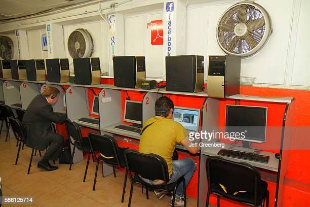 Mexico Mexico City Distrito Federal Zona Rosa Calle Genova Internet cafe
