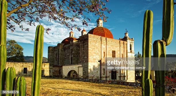 Mexico Oaxaca Mitla Church of San Pedro